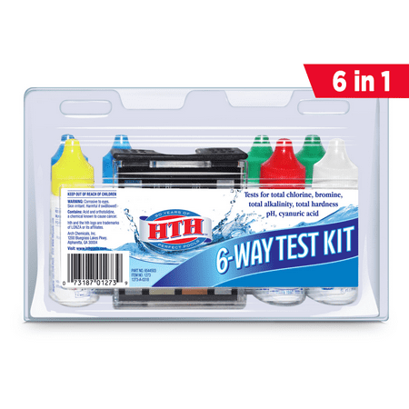 HTH 6-Way Test Kit for Swimming Pools ()