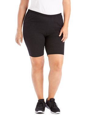 655b2fc30cf7 Product Image Just My Size Women's Plus-Size Stretch Jersey Bike Short