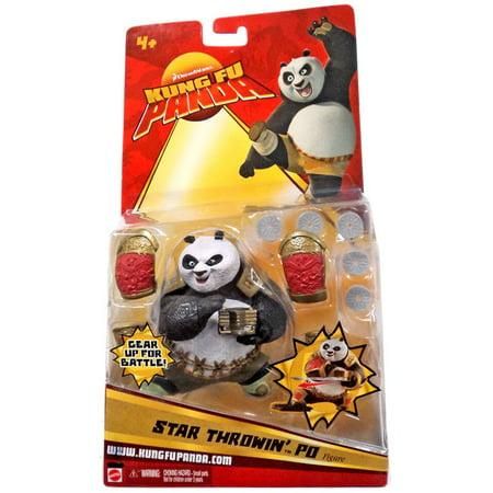 Kung Fu Panda Figure, Star Throwing Po (Pro Throwing Star)