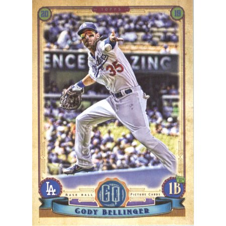 2019 Topps Gypsy Queen 18 Cody Bellinger Los Angeles Dodgers Baseball Card