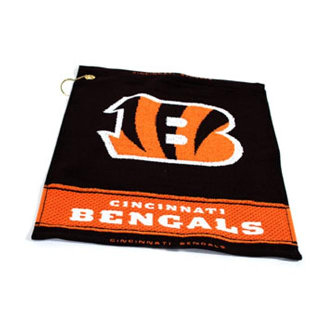 Team Golf 30680 Cincinnati Bengals Woven Golf Towel