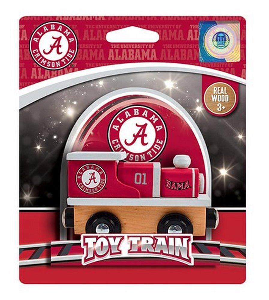 NCAA Licensed Alabama Crimson Tide Wood Toy Train