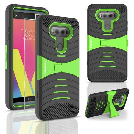 new styles 3aea3 2a52f For LG V20 Case, INNOVAA Kickstand Armor Case