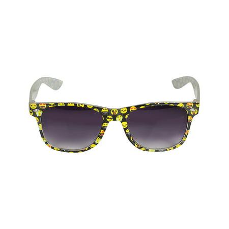 Emoji Emoticon Rimmed Sunglasses Costume (Cool Sunglasses Emoticon)