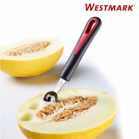- Westmark Germany Heavy Duty Gallant Stainless Steel Melon Baller (Black Silver Red)