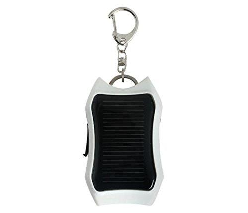 black 3 in 1 keychain solar charger universal power bank ...