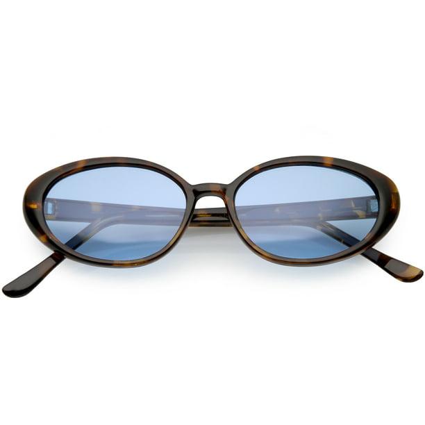 Mens Classic Vintage Retro Festival Designer Tortoise Sunglasses Brown Shades