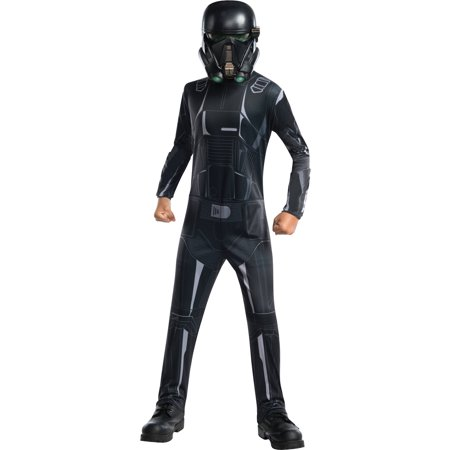 Star Wars Rogue One Death Trooper Child's Costume, Small (4-6) (Death Star Costume)
