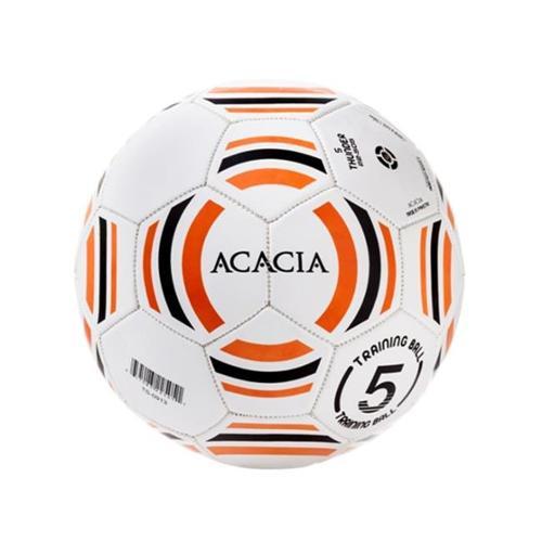 Image of ACACIA Thunder Soccer Ball, Lime/White, Size 5
