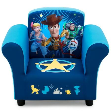 Disney/Pixar Toy Story 4 Kids Upholstered Chair by Delta Children Disney Arm Chair