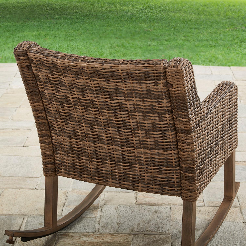 Better Homes & Gardens Hawthorne Park Outdoor Rocking Chair ...