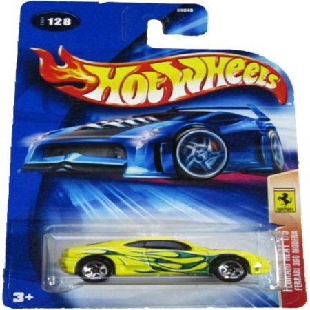 Hot Wheels Ferrari Enzo - Hot Wheels 2004 Ferrari Heat 1/5 360 Modena YELLOW 128