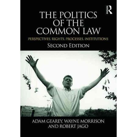 The Politics Of The Common Law  Perspectives  Rights  Processes  Institutions