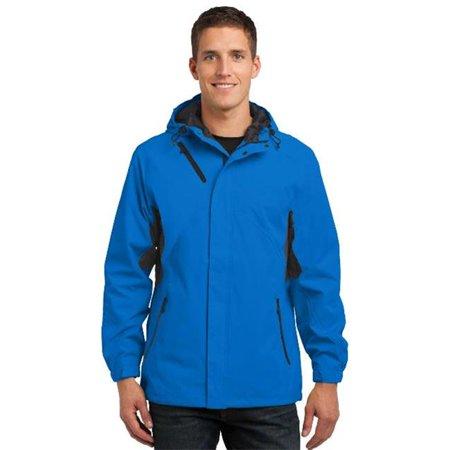 Port Authority® Cascade Waterproof Jacket.  J322 Imperial Blue/ Black 3Xl - image 1 de 1
