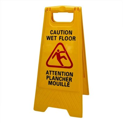 SIGN WET FLOOR, DURA PLUS BILINGUAL - image 1 of 1