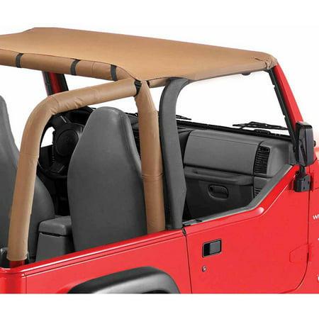 Bikini Spice - Bestop 52525-37 Jeep Wrangler Targa Style Header Bikini Top, Spice