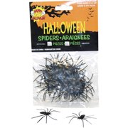 Bag of Spiders 24 Pieces Halloween Decoration