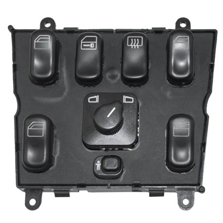 Power Window Master Control Switch for 98-02 Mercedes-Benz M-Class Replacement 1638206610 163 820 - 163 Replacement