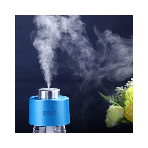 AGPtEK Portable Mini Travel Bottle Cap Ultrasonic Air Humidifier Purifier Aroma Diffuser Mist Maker for Home Office Car