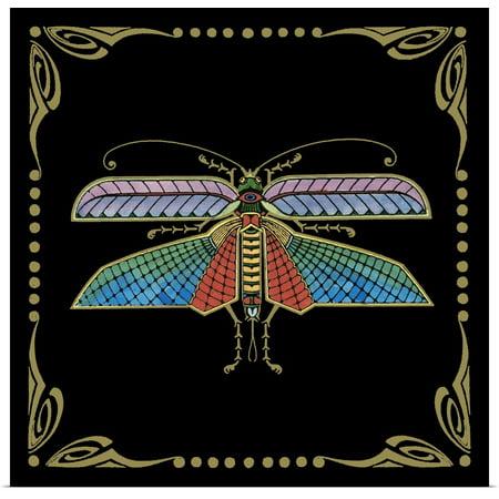 Great BIG Canvas | Rolled Vision Studio Poster Print entitled Cloisonne Dragonfly