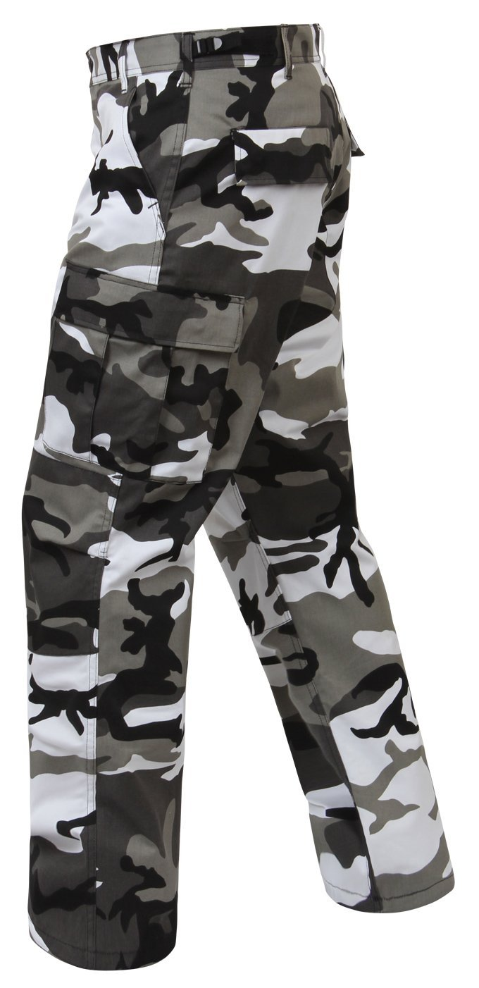 Click here to buy Rothco Color Camo Tactical BDU Pant City Camo, Small by Rothco.