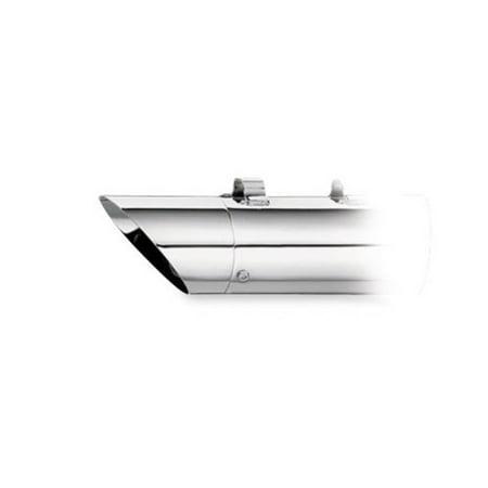 Slash Cut End Cap - SuperTrapp 108-8027 End Cap - Chrome - Slash Cut
