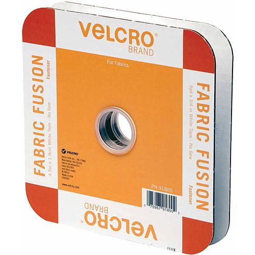 "VELCRO Brand Fabric Fusion Tape, 3/4"" x 5 yds"