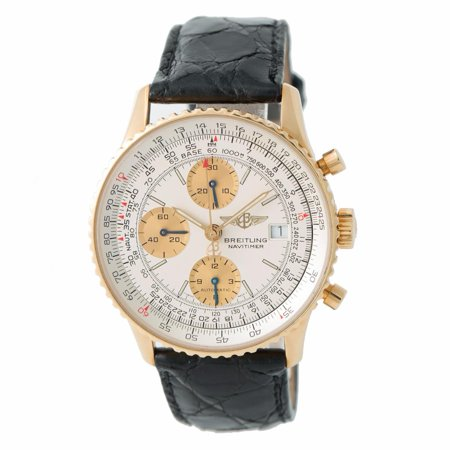 Breitling Navitimer K13022 Gold 41mm Watch (Certified Authentic & Warranty)