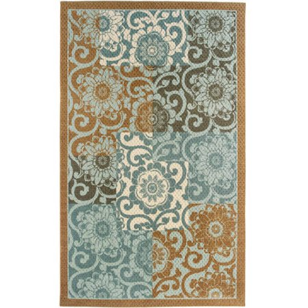 Better Homes And Gardens Blue Blocks Area Rugs Or Runners