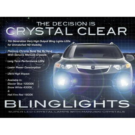 Euro Accord (New 2009-2012 Honda Accord Euro LED Foglamps Drivinglights Fog Lamps Driving Lights Kit (Japanese)