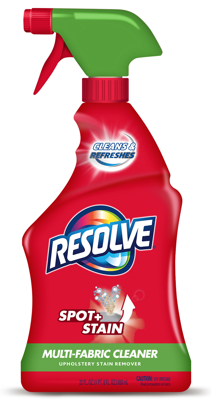 resolve upholstery cleaner u0026 stain remover 22 fl oz bottle multifabric cleaner