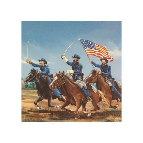 503 1/72 Union Cavalry Multi-Colored
