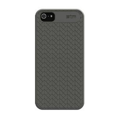 STM Bags STM Opera Case for iPhone 5 - Retail Packaging - Grey (322-018D-14)