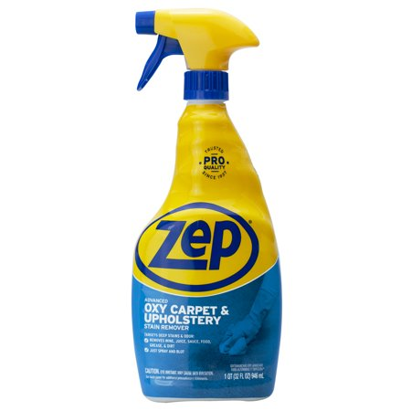 Zep Advanced Oxy Carpet and Upholstery Stain Remover, 32 oz