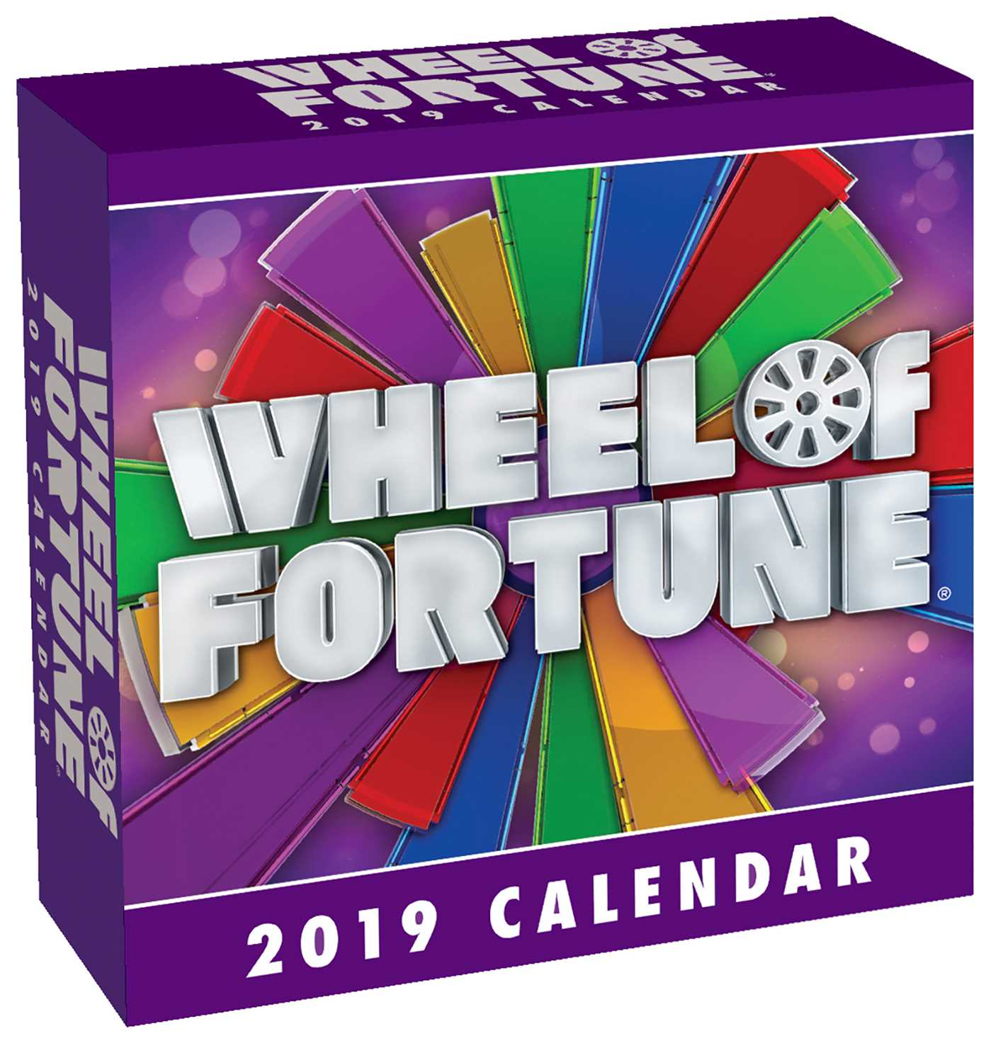 Wheel of Fortune 2019 Day-to-Day Calendar