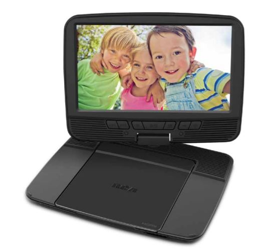 """RCA 9"""" Portable DVD Player - Swivel Screen and HDMI Output"""