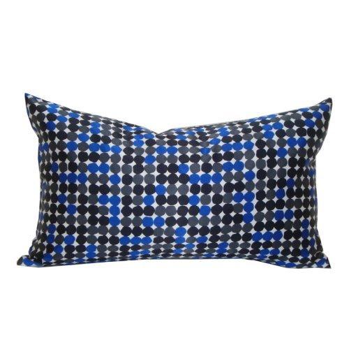 Jiti Dots Faux Silk Rectangle Pillow