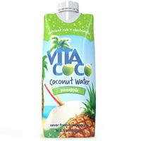 Vita Coco Coconut Water, Pineapple, 16.9 Fl Oz