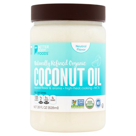 betterbody foods naturally refined organic coconut oil 28 fl oz. Black Bedroom Furniture Sets. Home Design Ideas