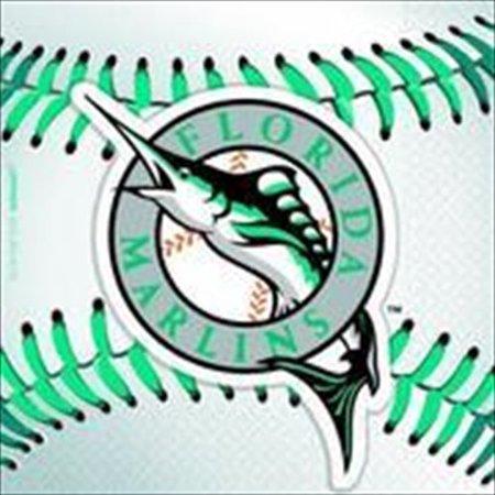 MLB Florida Marlins Small Napkins (36ct) - Baseball Napkins