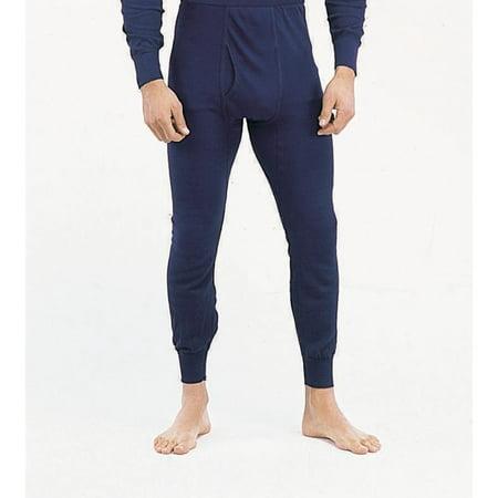 Indera Blue Polypropylene Thermal Long Underwear Pants/Bottoms ...