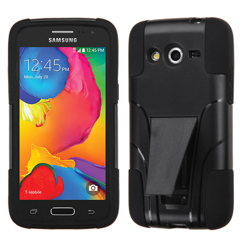 For G386T Galaxy Avant Black Inverse Advanced Armor Stand Protector Cover