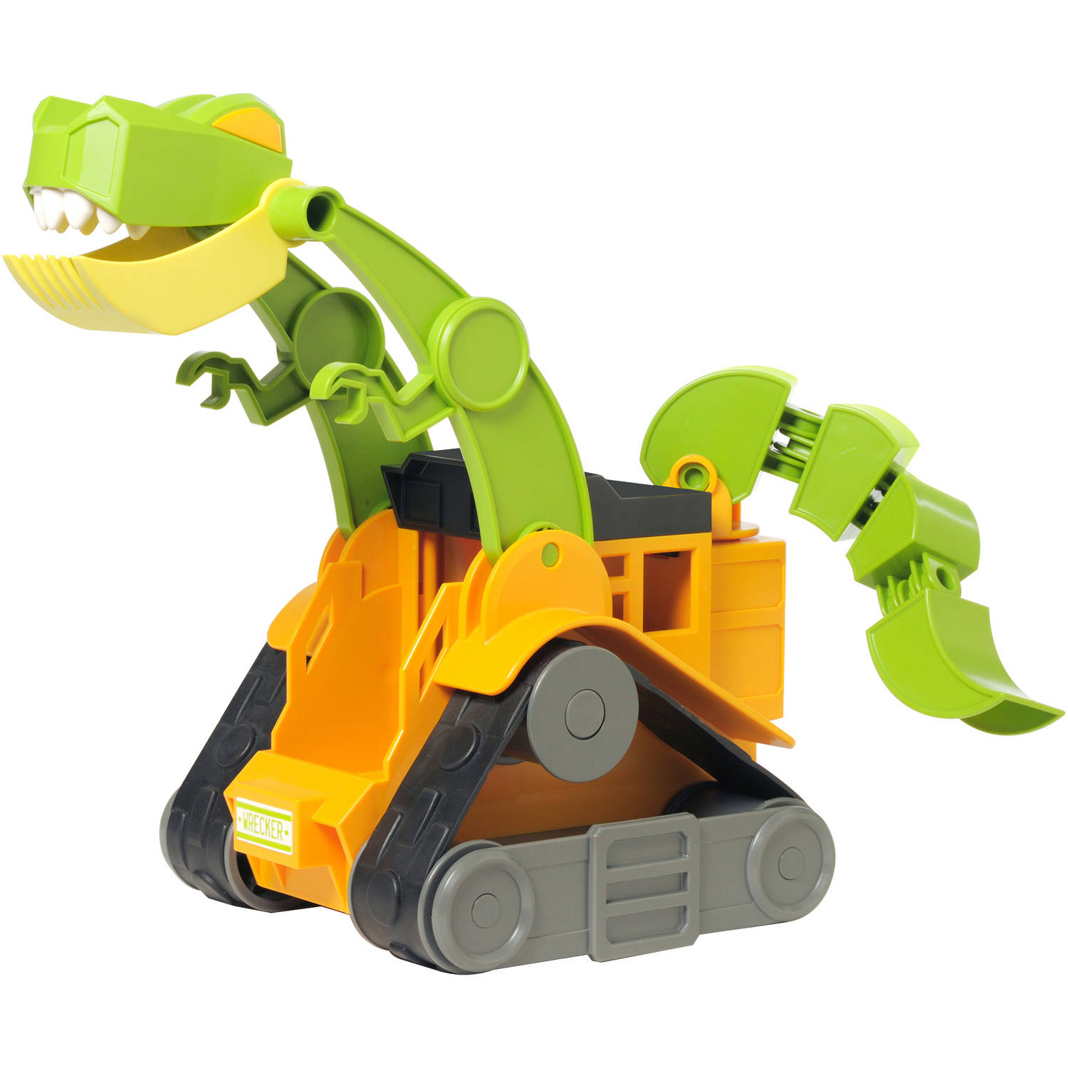 Educational Insights Dino Construction Company Wrecker the T-Rex Skid Loader