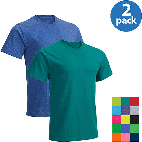 Fruit of the Loom Men's Short Sleeve Crew Tee, 2 Pack