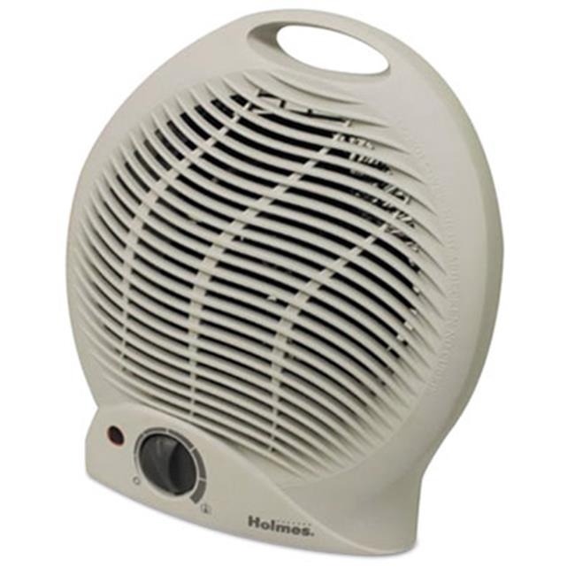 Holmes Products HFH113UM Compact Electric Fan-Forced Heater, Off-White, 1500 W