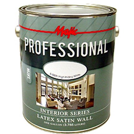 Int Satin - 8-8606 Qt #1 White Tnt Bs Satin Lat Int Paint, Yenkin-Majestic Paint Corp., EACH