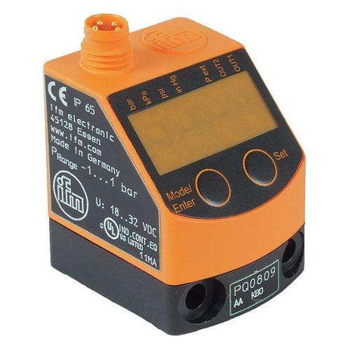 IFM PQ0809 Compnd Digital Prssur Sw, -14.5-14.5 PSI