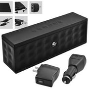 Ematic 8-in-1  Accessory Kit with Portable Bluetooth Speaker, Mini USB Cable, Wall & Car Charger