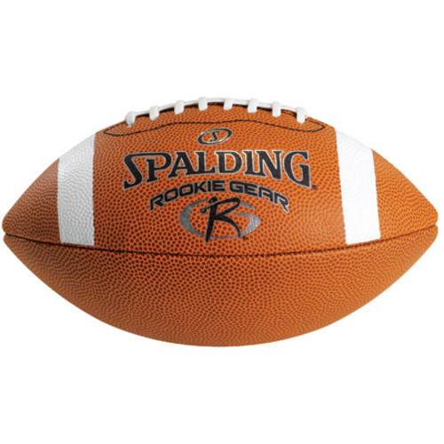 SpaldingRookie Gear Football, Brown Synthetic, Pee Wee Size