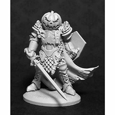 Halloween Knight, Halloween Knight Miniature 25mm Heroic Scale Special Edition Reaper Miniatures By Reaper Miniatures Ship from US